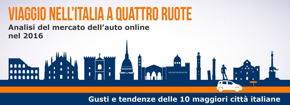 Analisi del mercato online auto nuove e usate in Italia 2016