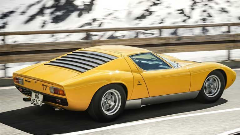 Compra Lamborghini Miura Su Autoscout24 It