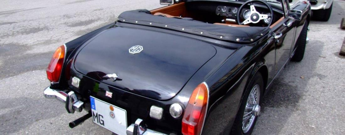 That mg midget convert to automatic you were