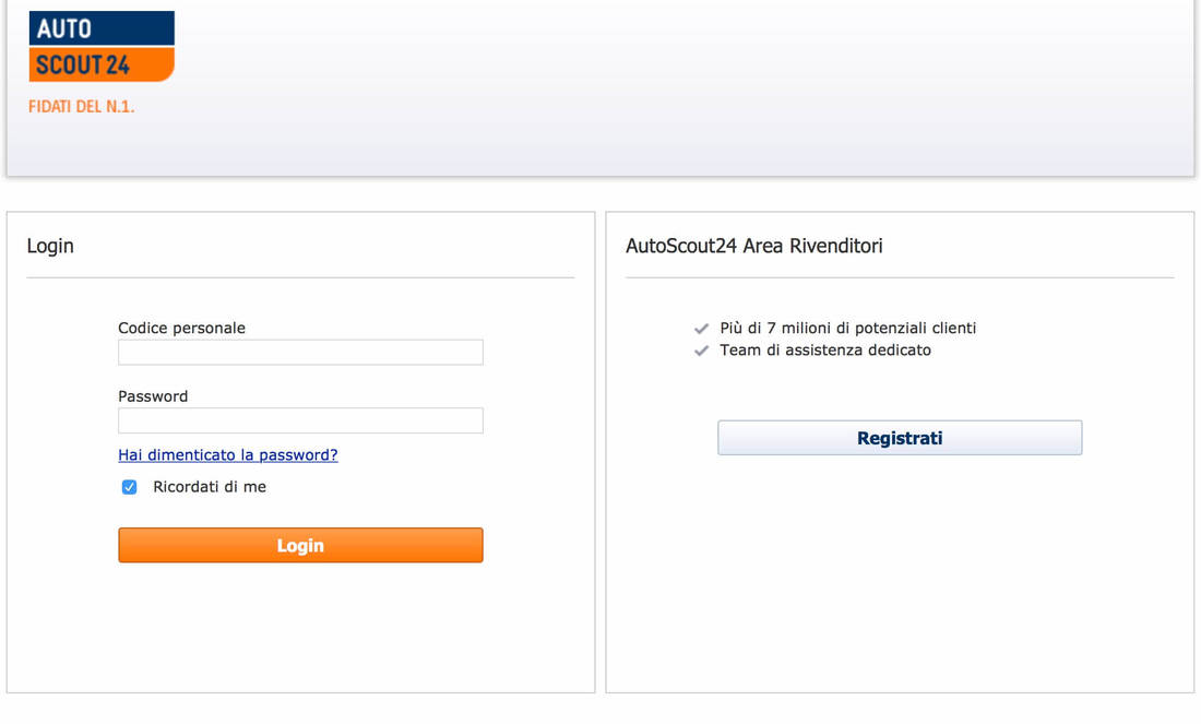 How to place an ad on AutoScout24 02