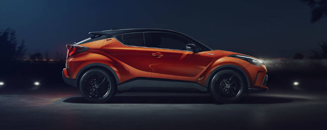 Toyota C-HR laterale