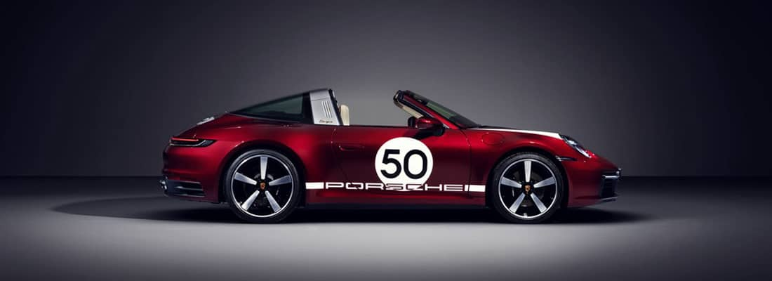 911 Targa 4S Heritage Design Edition - Laterale
