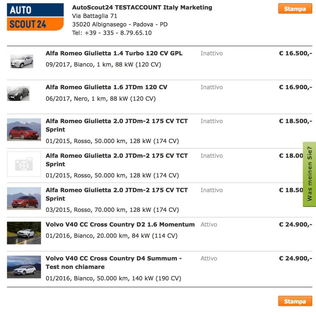 How to place an ad on AutoScout24 30