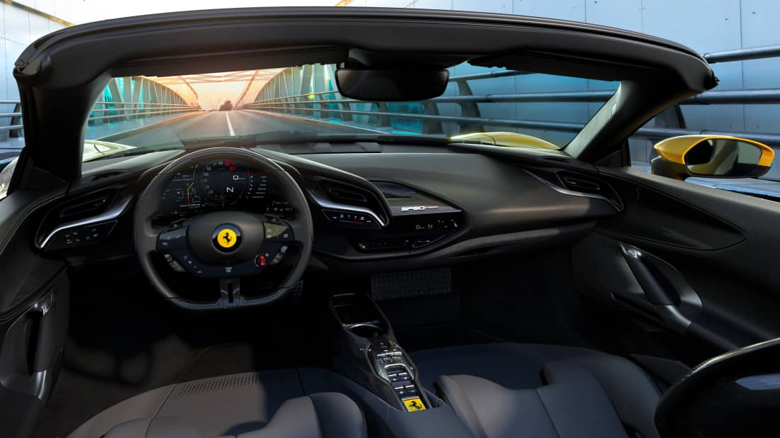 Ferrari sf90 spider interni