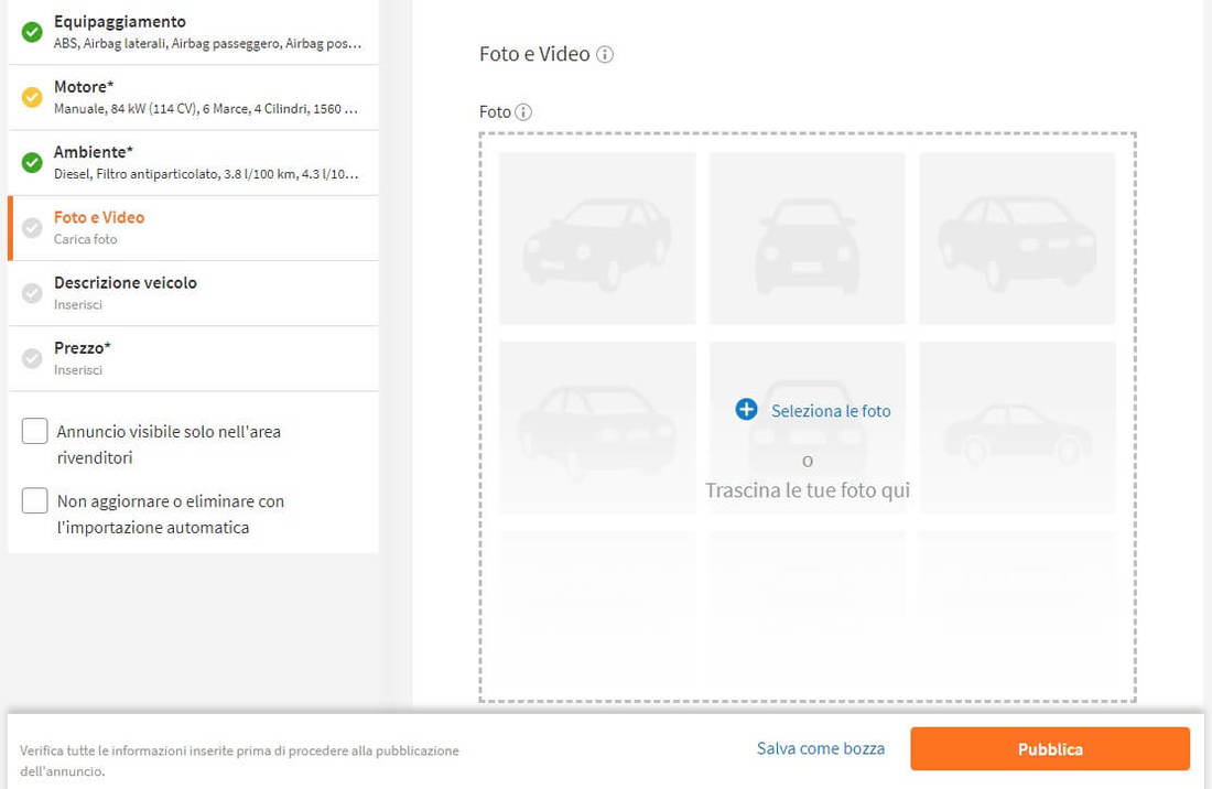 How to place an ad on AutoScout24 15