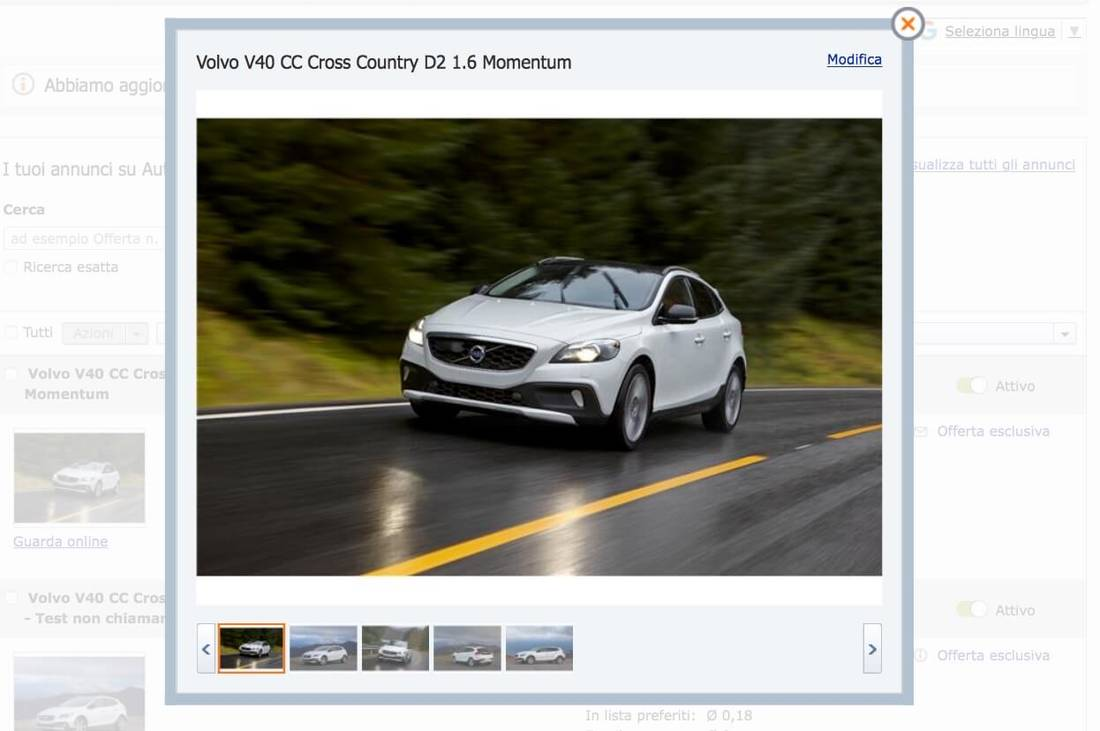 How to place an ad on AutoScout24 26